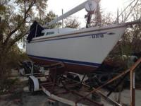 1974 Catalina 27 Please call owner Wayne at . Boat