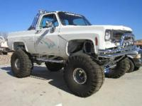 This is a custom 1974 Chevrolet Truck! Almost