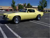 1974 CAMARO Z28, Orginal 350 and 350 auto trans, runs