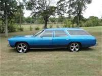 For sale is a 1974 Chevy Impala Wagon. For Serious Car