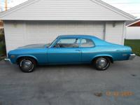 1974 Chevrolet Nova 2DR Coupe ..Numbers Matching ..350