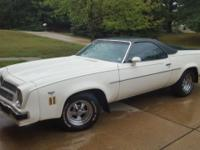 1974 EL CAMINO 400 V8 AUTO TRANS PS,PB, AC (NOT WORKING