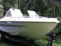 Boat is in good shape, needs new seats and carpet.  The