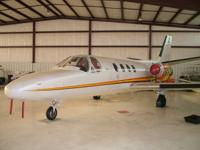 Very Nice Citation 500 with Low Airframe and Engine