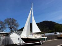 This 1974 Clipper Marine 21' Sailboat is locally owned