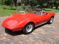 Looking to sell my 74 Red on Red Corvette convertible.