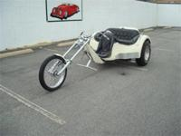 Stk#106 1974 Three Wheel Trike Exterior: Fiberglass