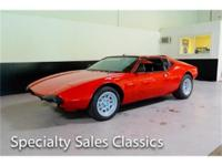 This 1974 DeTomaso Pantera L (Stock # B1716) is