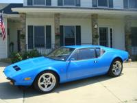 You are considering Fresh Completely Restored deTomaso