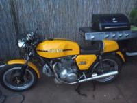 hi this is a very nice 1974 ducati 750 model sports