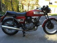 1974 Ducati GT project1974 Ducati GT with 15,092