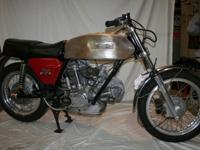 1974 GT 750 Ducati project bike. This bike has been