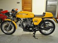 Wonderful example of a Ducati 750 Sport. Total tear