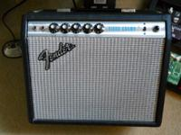 I have a beautiful 1974 Fender Vibro Champ for