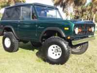 -1974 ford bronco -Great shape -soft top only -Lots of