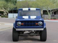 Powering the Bronco is a Smedding Cobra 347 small block