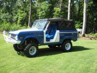 1974 Ford Bronco, automatic with 302, new parts include