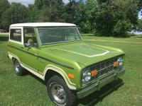 1974 Ford Bronco Ranger  The frame off restoration was