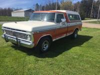 1974 Ford F100 XLT Ranger (NY) - $19,900 30,000 miles.