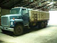 1974 tandem axle grain truck with 20' steel box and
