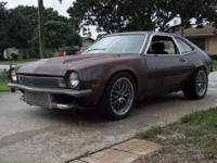 Engine and Turbo:1974 Ford Pinto trunk model. 2.3L
