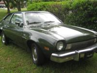 1974 Ford Pinto with a 1975 Motor, and ORIGINAL 1974