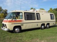 1974 GMC PAINTED DESERT 26FT MOTOR COACH - COMPLETELY