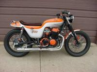 1974 CB750 CAFE REBUILT MOTOR NEW BEARINGS CAM CHAIN,