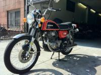 1974 Honda CB200 Only 5000 miles - 4th owner. I