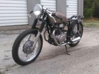 1974 Honda cb360 cafe' racer. I bought this as an
