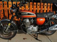 THIS IS AN ORIGINAL OWNER GARAGE FIND 1974 HONDA CB750