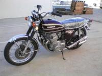This is a 1973 Honda CB750 K4 in great running