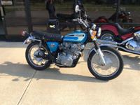 1974 Honda CL 450 Excellent This bike is all original