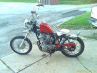 for sale, 1974 honda cl 450 bobber with title, this