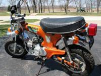 For Sale: 1974 Honda CT70 (K3). Very Good Condition.