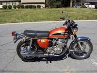 1974 Honda K4 CB750 Vintage Original PaintOriginal