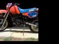 Im selling my all original 1974 honda xl 250 on road
