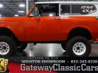 Stock #209HOU Up for sale in the Houston showroom is
