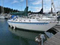 Great cruising sailboat, recognized for its outstanding