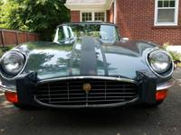 Rust free 1974 Jaguar E-Type Series 3 OTS convertible