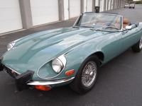 1974 Jaguar E-Type V12 Series III. The car is in the