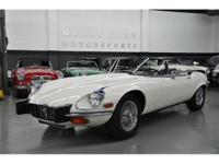 This 1974 Jaguar XKE 2dr Roadster Convertible features