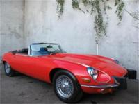 1974 Jaguar XKE Roadster - V12 1974 Jaguar XKE Roadster