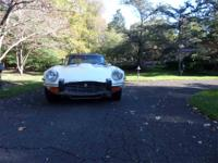 This is a 1974 Jaguar XKE in excellent condition, V12,