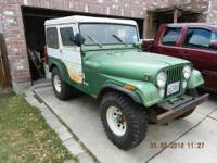 1974 JEEP CJ5 4740 MILES Purchased and driven by one