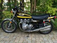 1974 Kawasaki Z1 900This is an outstanding example of