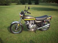 Here is a nicely restored bike, its a matching numbers,