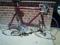 Tbe Bicycle is in pristine condition. it is one of the
