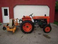 1974 Kubota L210 21 HP tractor - 2 cyl diesel -862