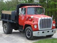 I have a 1974 Ford L900 great truck, we just don't use
